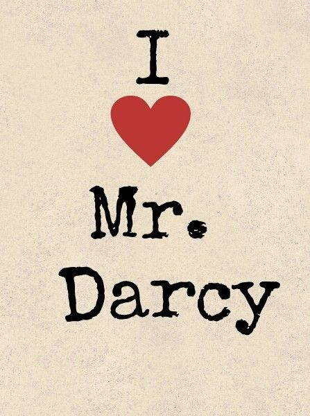 I love Mr. Darcy #janeausten #fanart