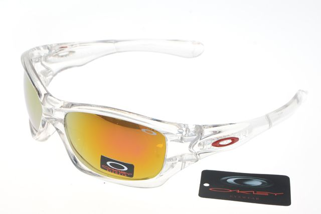 Oakley Crankcase Sunglasses White Frame Colorful Lens 0175
