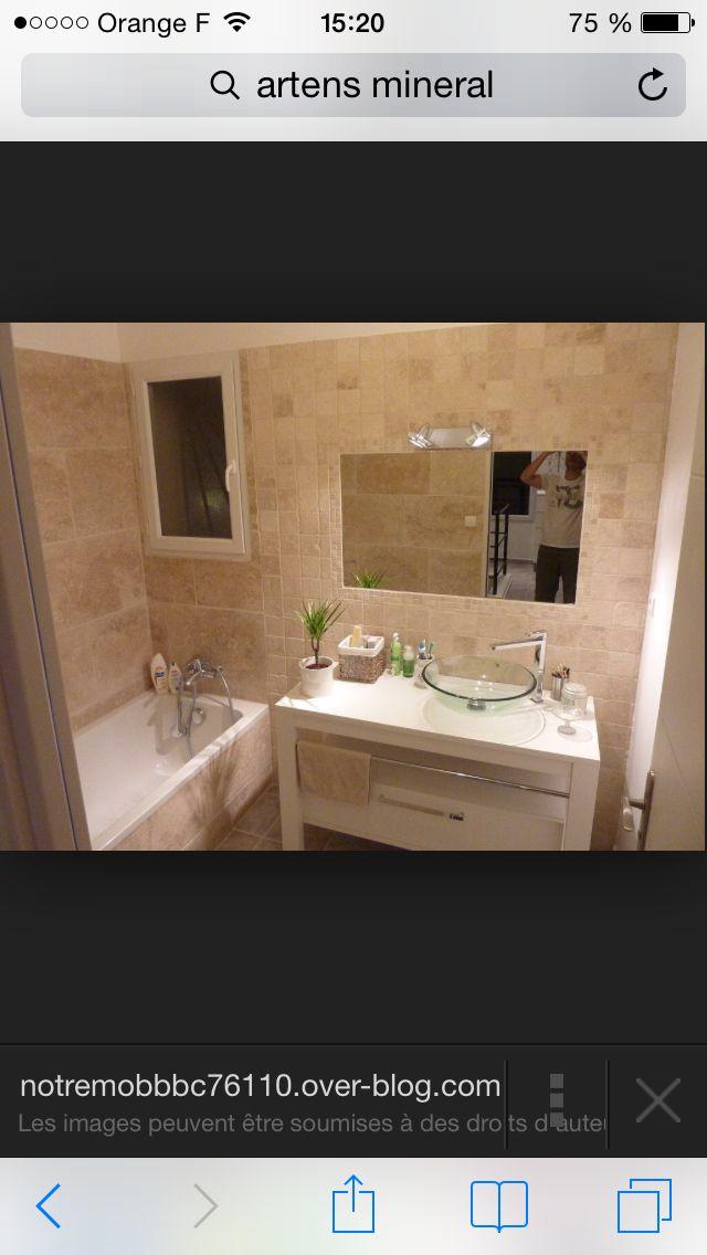 9 best salle de bain images on Pinterest | Bathroom, Bathroom ideas ...