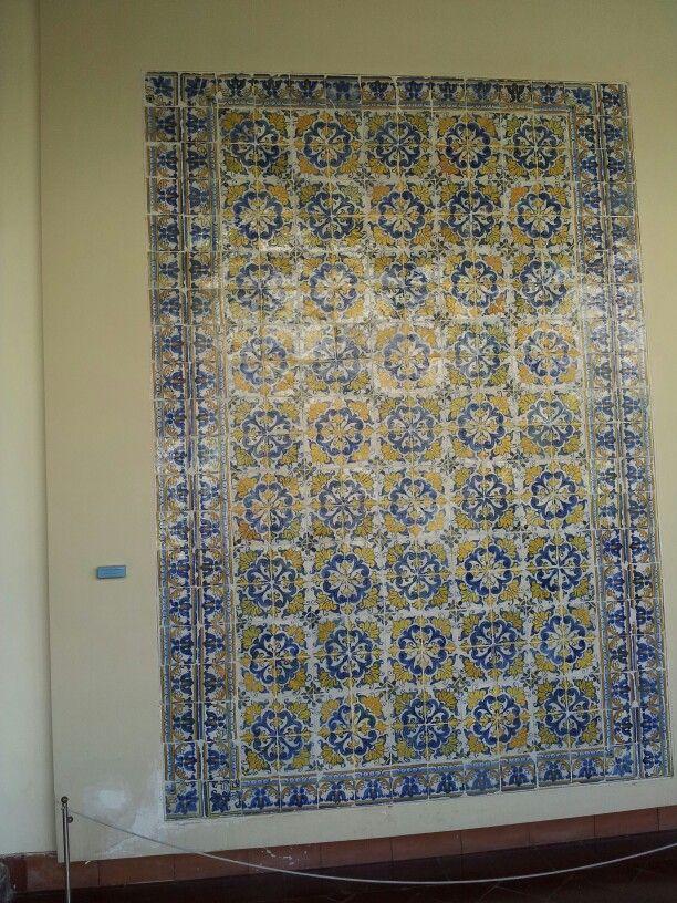 Mosaico talaverano .Claustro Museo Santa Cruz