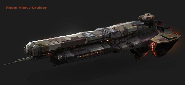 https://www.artstation.com/artwork/rebel-heavy-cruiser ...