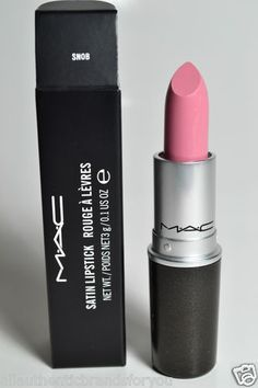 """Could not live without this Lipstick!! mac satin lipstick. """"snob."""""""