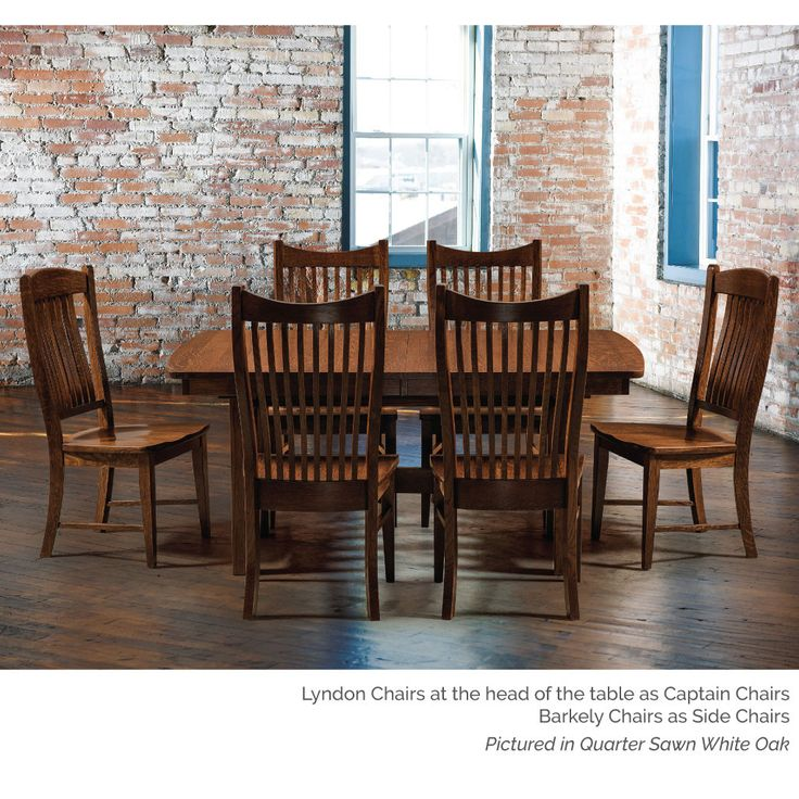 Amish Tablesu0027 Lyndon Dining Chair Is Made Of American Hardwoods. Many Dining  Room Chair