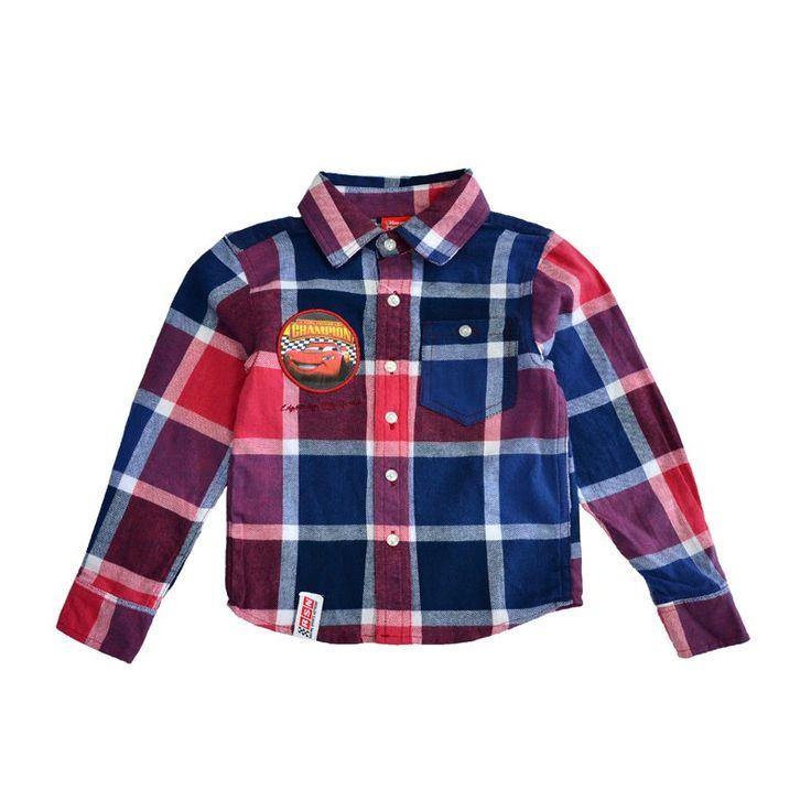 """Рубашка """"Тачки""""  Цена: 700 руб. Размер: 140  #миккимаркет #дисней #одежда #дети #ребенок #детскаяодежда #магазин #онлайнмагазин #купить #детскаяобувь #детскиеаксессуры #одеждадлядетей #длямалышей #малыш #рубашка #тачки"""