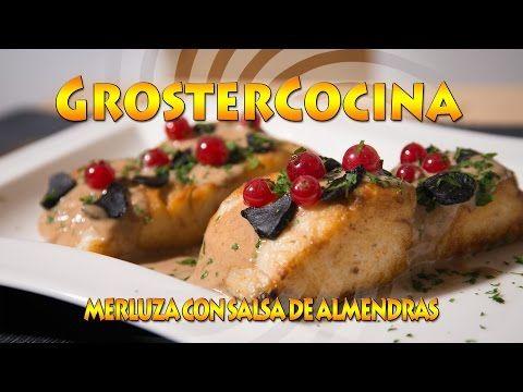 COMO HACER MERLUZA CON SALSA DE ALMENDRAS EP. 50 - YouTube