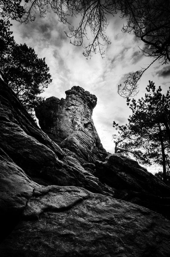 Das hockende Weib bei Ibbenbüren im Teutoburger Wald