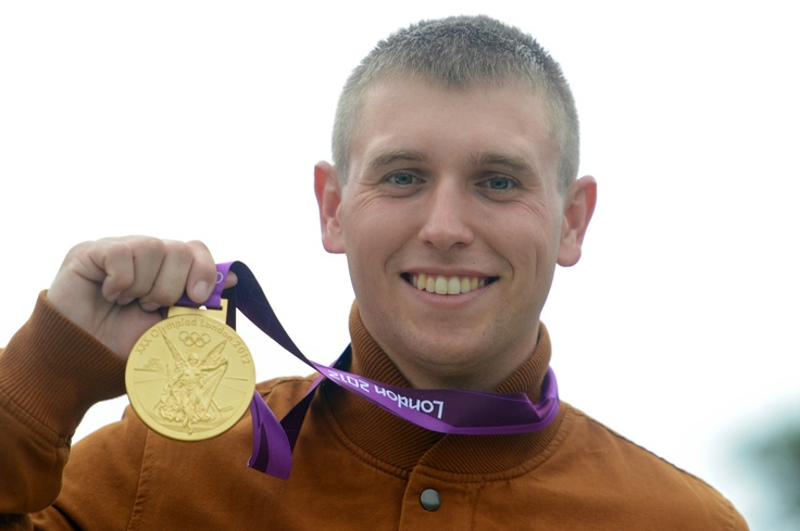 Sgt. Vincent Hancock is the first-ever skeet shooter to win consecutive Olympic titles, according to the Associated Press. After an unexpected victory in Beijing in 2008, the 23-year-old went on to claim his second gold in London, and set an Olympic record for his score of 123 in the qualifying round.