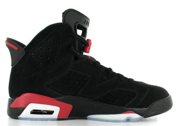 The birth of the Air Jordan 6 Retro Black Deep Infrared Cheap Shoes carries  traditional glory