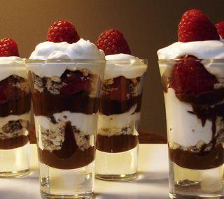 Lindt Christmas Pudding Cake