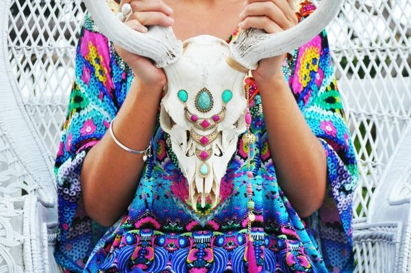 jewellery skull from Ollie and Delilah