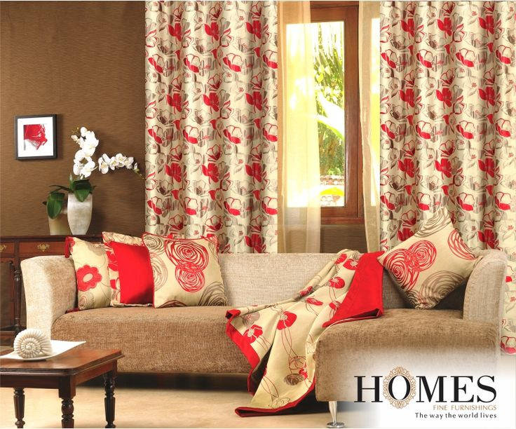 Good Interiors please our heart. Happy #WorldHeartDay :) #ColorRed A room with much red can increase the level of passion, Red is said to be a statement colour !  Explore more @ www.homesfurnishings.com #Red #Color #Style #Statement #WorldHeartDay #Interiors #Homes #Furnishings