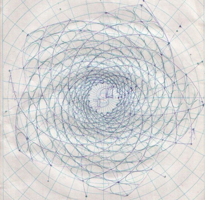18 best Simon Beck - snow art images on Pinterest Artist, Block - 3d graph paper