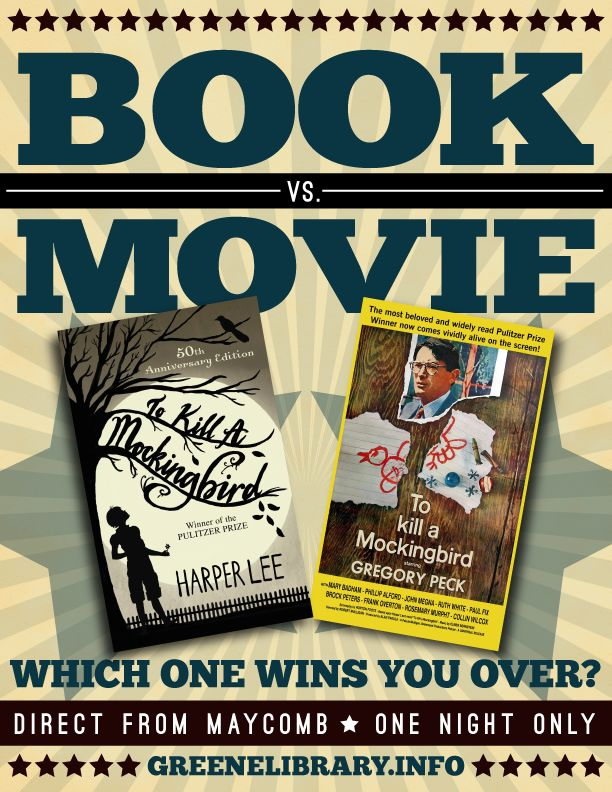 to kill a mockingbird vs a To kill a mockingbird is a book written by harper lee the to kill a mockingbird study guide contains a biography of harper lee, literature essays, quiz questions.
