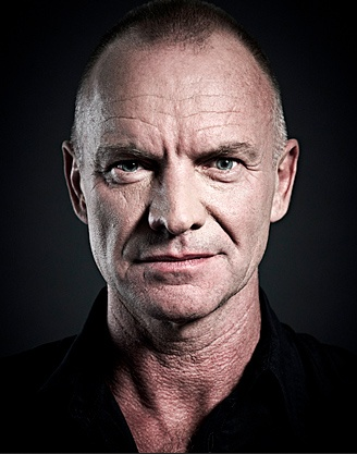 """Sting:  """"When you reach a certain age, you realize that life is finite. You can be depressed by that, or you can say, 'I'm going to appreciate every minute to its maximum potential."""""""