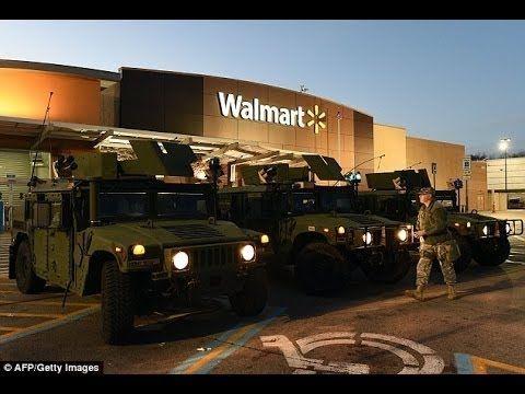INSIDE Closed Wal Mart NEW 7/30/2015. JADE HELM 2015 Livingston, Tx WalMart Closing - YouTube