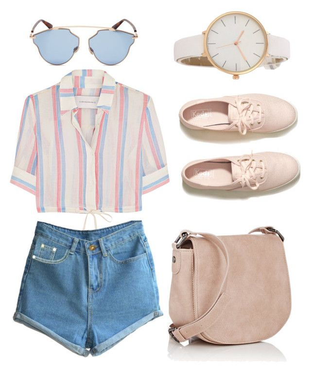 """""""Outfit #26"""" by trishsa on Polyvore featuring Solid & Striped, Deux Lux, Hollister Co. and Christian Dior"""