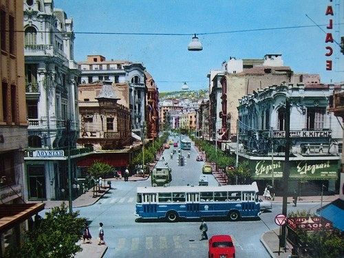 Thessaloniki ~ December 1960... My mother had just immigrated, this is the Thessaloniki she left behind.