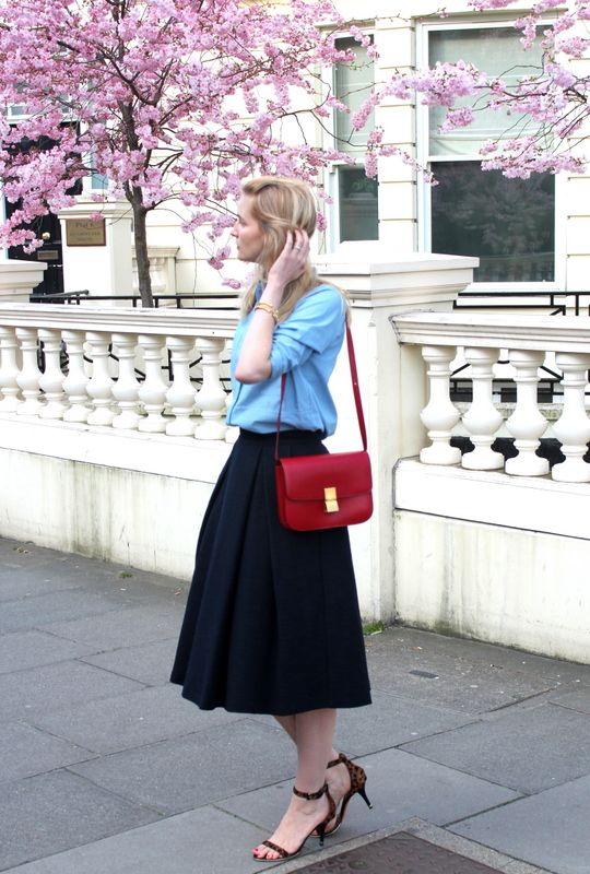 ... Céline box bag. See More. red