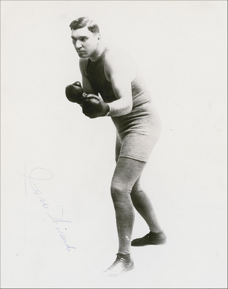 "Jess Willard (December 29, 1881 – December 15, 1968) was a world heavyweight boxing champion.[2][3] He won the heavyweight title from Jack Johnson in April 1915 (earning the nickname ""The Great White Hope"") and lost it to Jack Dempsey in July 1919.  At 6 ft 6 1⁄2 in (1.99 m) and 235 lb (107 kg), Willard was the tallest and the largest heavyweight champion in boxing history, until the 270 pounds (120 kg) Primo Carnera won the title on June 29, 1933, and the 6 ft 8 in (2.03 m) Vitali Klitschko…"