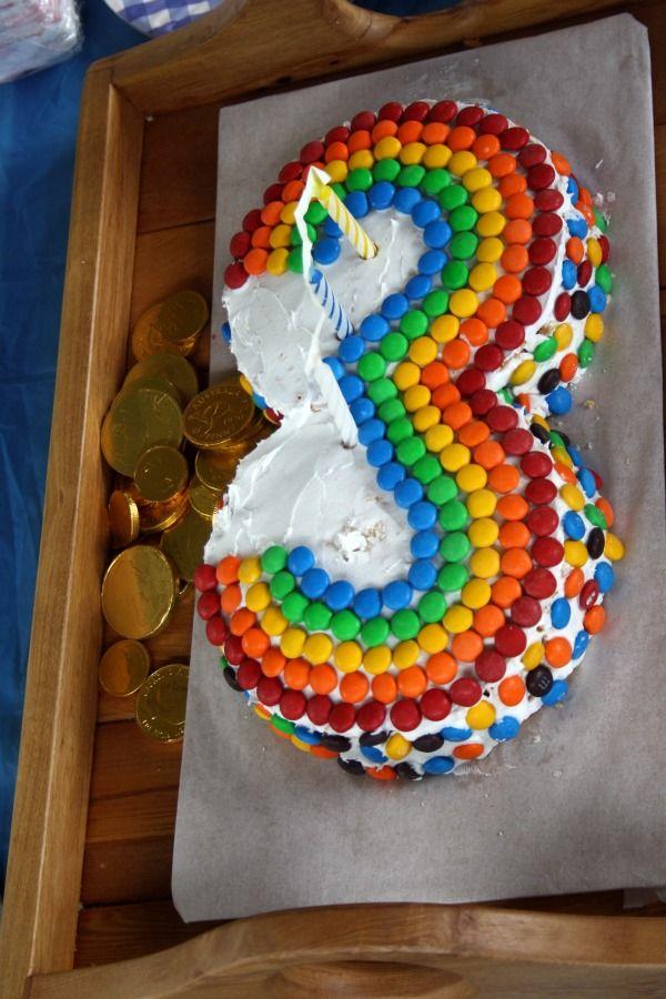 Kuchen Zahl 3