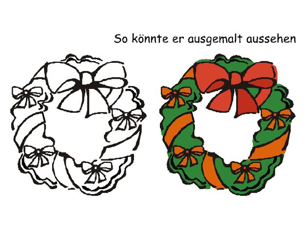 Stempel Weihnachtskranz Gestalten Sie Ihre Karten, Briefe, Päckchen o.a. zu Weihnachten doch mal ganz anders oder machen Ihre Geschenke zu etwas Besonderen.