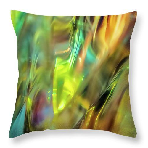 "Leaves On The Grass Throw Pillow by Jane Star.  Our throw pillows are made from 100% spun polyester poplin fabric and add a stylish statement to any room.  Pillows are available in sizes from 14"" x 14"" up to 26"" x 26"".  Each pillow is printed on both sides (same image) and includes a concealed zipper and removable insert (if selected) for easy cleaning."