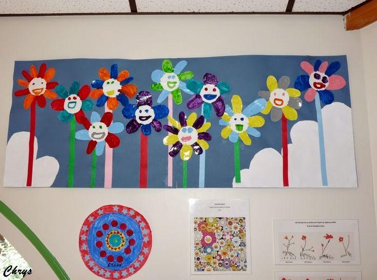 Le Journal de Chrys: Des fleurs avec Murakami