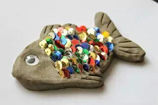 Fisch aus Ton