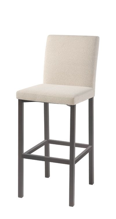 Trica Stool. Can come in many finishes and fabrics/leathers- Snugglers Furniture http://gicor.ca/trica-bar-stools/