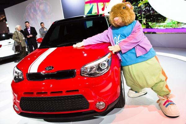 Kia bares its 2014 Soul, offering a better ride