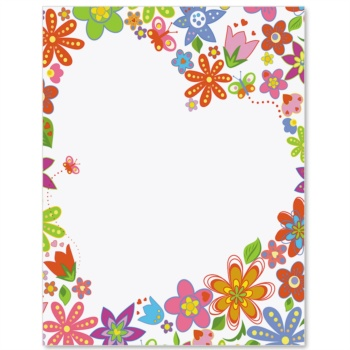 Spring Welcome Letter Paper | Idea Art