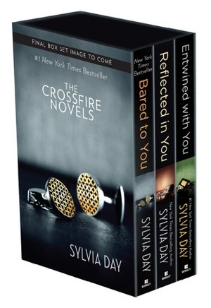 Sylvia Day Crossfire Series Boxed Set (Bared to You, Reflected in You, Entwined with You) A series for those of you looking for something much more violent than 50 shades of grey. The books were vulgar. But hey, if you're into that...