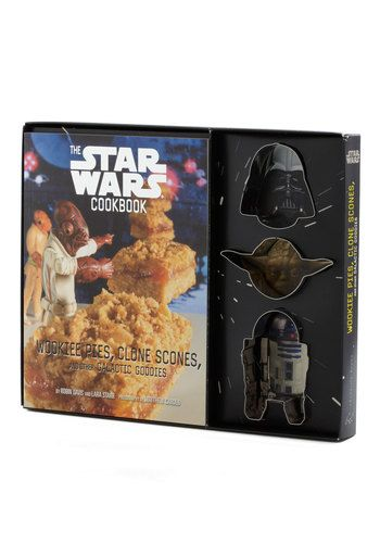 The Star Wars Cookbook Kit -- absolutely nessisary for my sanity.