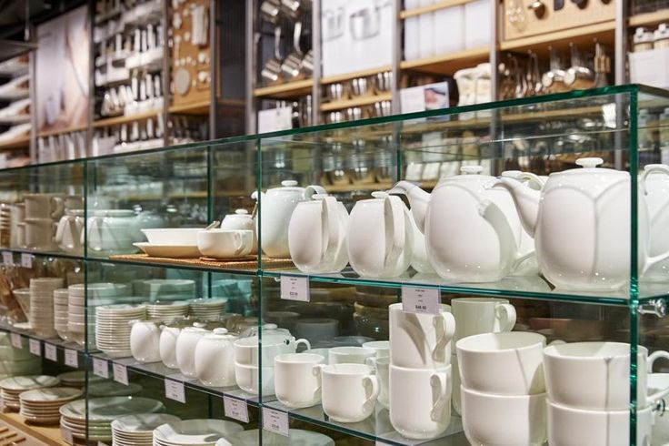A Muji store opened on Newbury Street with shelves and shelves of storage boxes, soap, slippers, salad bowls, and so much more.