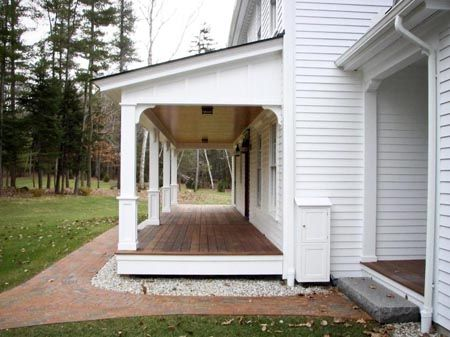 1533 best ideas about farmhouses on pinterest modern for Side porch