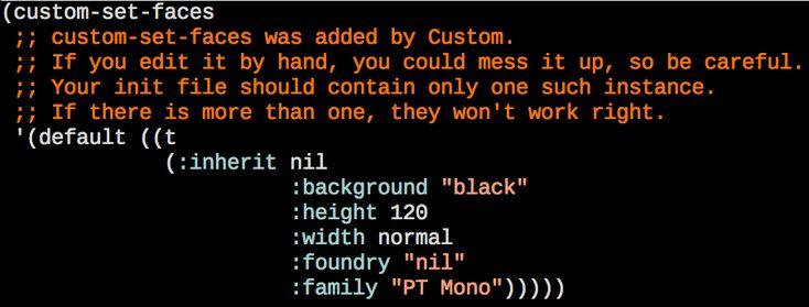 The Emacs default colors in recent versions.