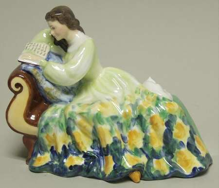 Royal Doulton. Solitude. Blue and yellow color way.