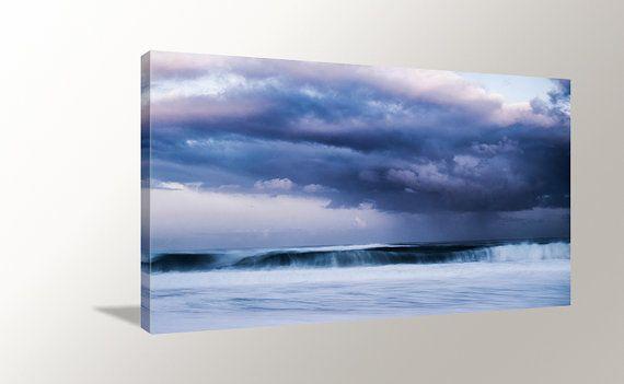 Ocean Wave Canvas Art Storm Ocean Canvas North by HawaiiPhotoArts