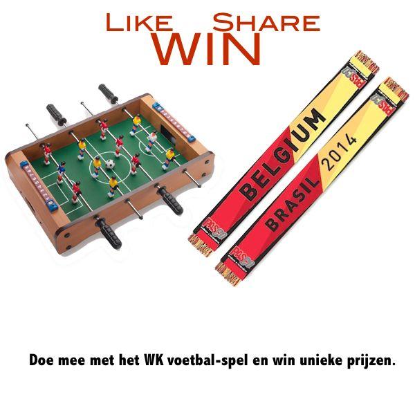 Doe mee met het WK voetbal-spel en win unieke prijzen. http://www.pascogifts.com/nl/blog/detail/wedstrijd-wereldbeker-voetbal