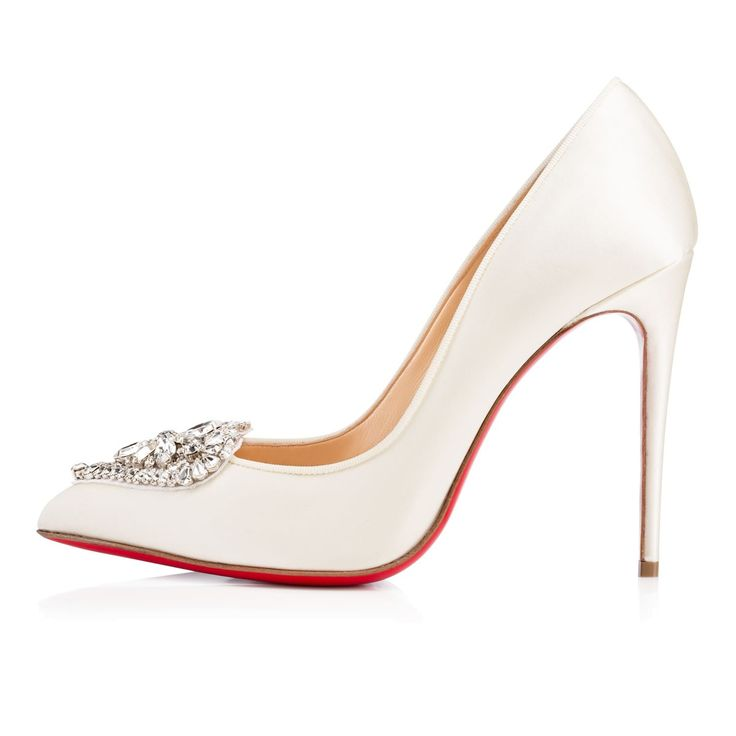 christian louboutin crystal heart