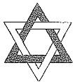 """Nella confluenza verticale di questo doppio triangolo, si ravvedono le cosiddette """"Clavicole di Re Salomone"""". Il simbolo rappresenta la """"confluenza"""" di una triade maggiore (quella di fuoco-spirito) in un'altra minore (aria, o acqua, o terra) che, come viene descritto con l'Albero della Vita (A. sephirotico), """"discende"""" dalla sephirot denominata """"Kether"""" sino a quella chiamata """"Malkuth""""."""