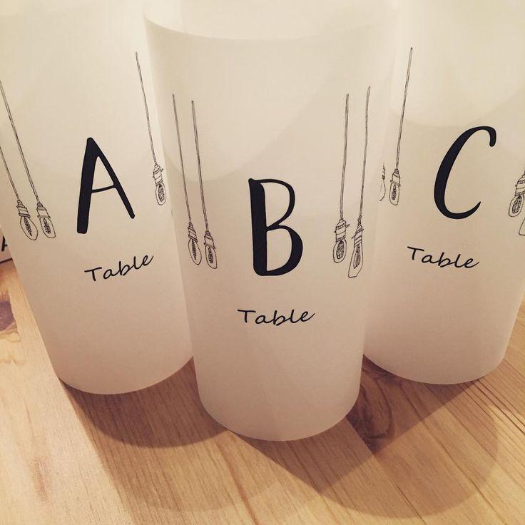 〔結婚式DIY〕可愛くって珍しいテーブルナンバーデザインまとめ | marry[マリー]