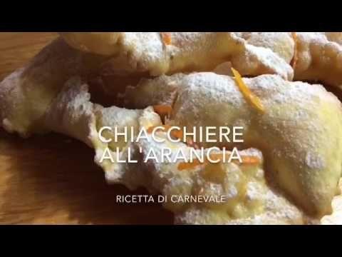 CHIACCHIERE BOLLOSE E FRIABILI - YouTube