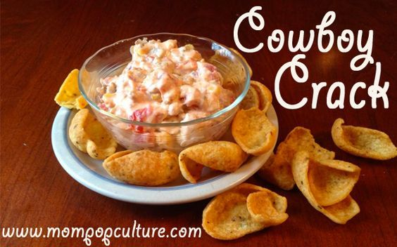 Amazing Cowboy Crack Dip Recipe!  Warm, cheesy, with a little kick to it!  Perfect for game day, bbqs, or a night in with a beer!