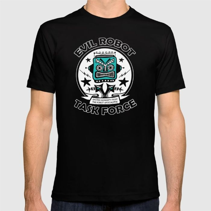 Evil Robot Uprising T-shirt