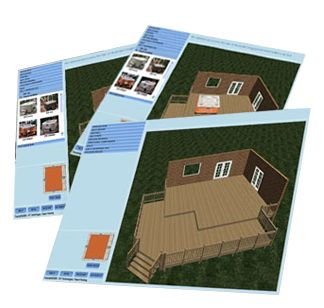 Hot Tub Deck Designs, Landscaping Ideas, Hot Tub Patio, Backyard Spa Designs - Outdoor Hot Tubs   Hot Spring Spas
