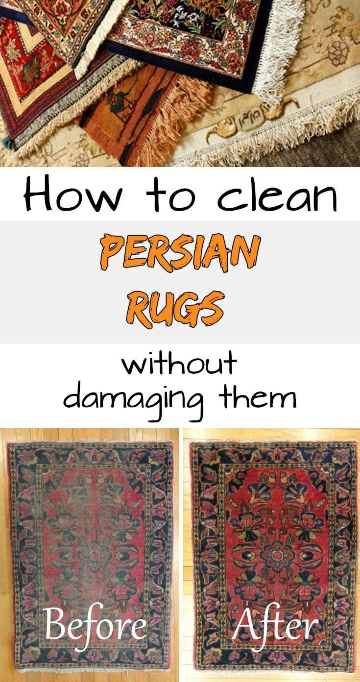 Learn How To Clean Persian Rugs Without Damaging Them Rug Cleaning Diy Persian Rug Persian Rug Cleaning