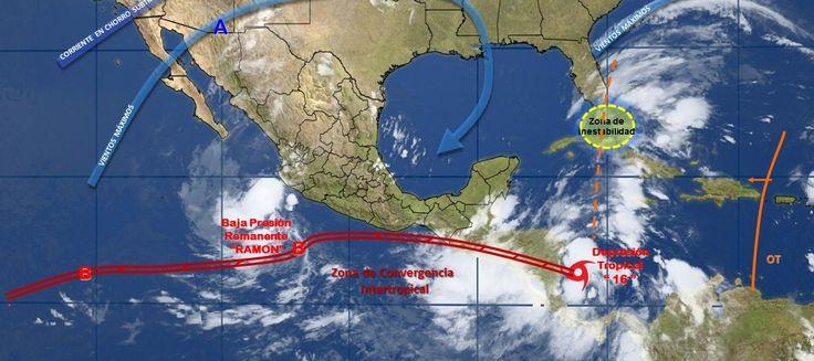 Pronóstico del clima en México para jueves 5 de octubre - e-oaxaca Periódico Digital de Oaxaca