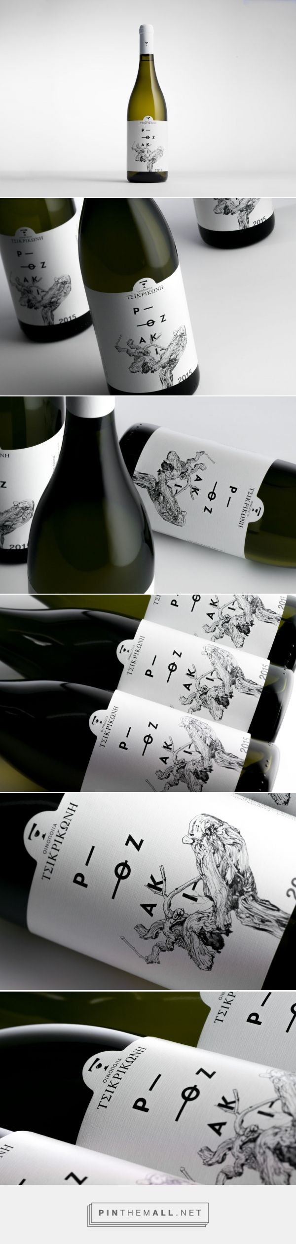 Rozaki Wine - Packaging of the World - Creative Package Design Gallery - http://www.packagingoftheworld.com/2016/12/rozaki.html