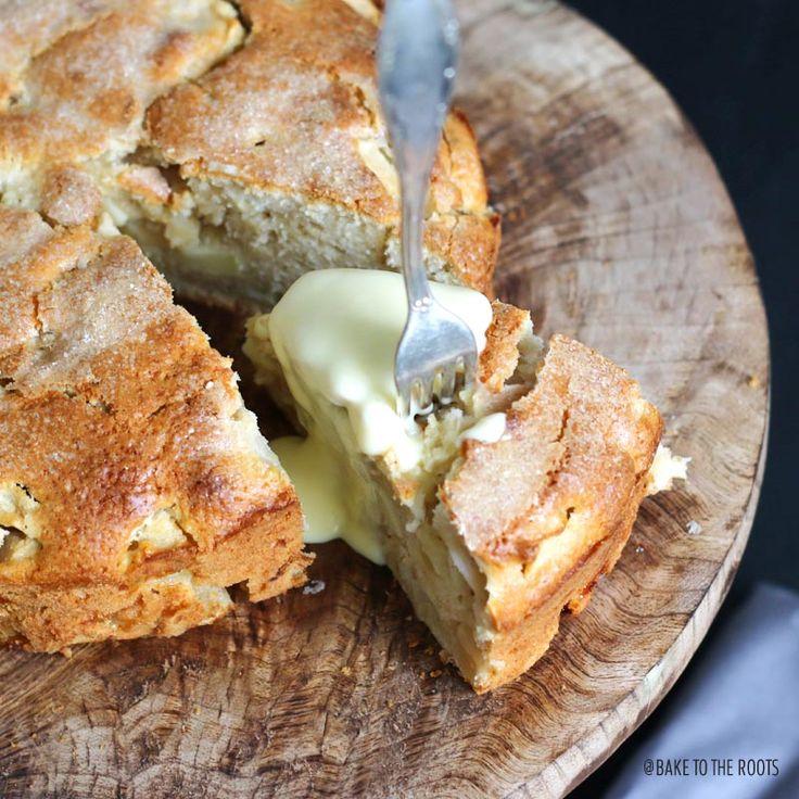St. Patrick's Day Irischer Apfelkuchen